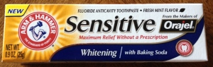 FREE Arm & Hammer Sensitive Toothpaste
