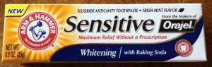 FREE Arm & Hammer Sensitive Toothpaste
