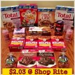 Shop Rite Haul 10/14